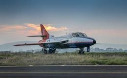 Hawker Hunter T.7 XL612 Royalty Free Stock Photo