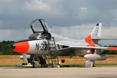 Hawker Hunter Stock Image