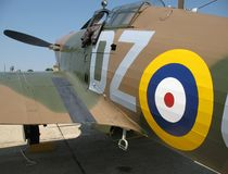 Hawker Hurricane Fighter Royalty Free Stock Images
