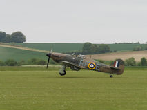 Hawker Hurricane fighter Royalty Free Stock Photography