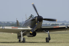Hawker Hurricane fighter plane Stock Image