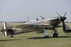 Hawker Hurricane fighter plane. Hawker Hurricane, World War 2 Battle of Britain fighter Stock Photos