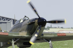 Hawker Hurricane fighter plane Royalty Free Stock Photo