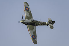 Hawker Hurricane fighter plane Stock Images