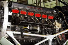 Hawker Hurricane IIA Rolls Royce Engine Royalty Free Stock Photography