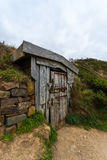 Hawker`s Hut in north Cornwall Royalty Free Stock Image