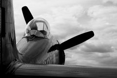 Hawker Sea Fury Royalty Free Stock Image