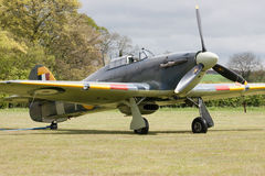 Hawker Sea Hurricane at the Shuttleworth Collection Royalty Free Stock Photos