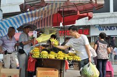 Hawker Selling fruit Stock Images