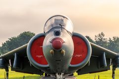 Hawker Siddley Harrier Jump Jet royalty free stock image