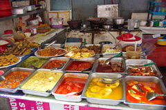 'Hawker Stall' so called Food Stall in Malaysia stock photography