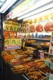 Hawker stall on Gurney Drive, Batu Ferringhi, Malaysia Royalty Free Stock Image