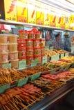 Hawker stall on Gurney Drive, Batu Ferringhi, Malaysia Royalty Free Stock Photos