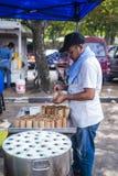 Hawkers at the bazaar Ramadan Royalty Free Stock Photos