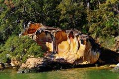 Hawkesbury flod, Brooklyn New South Wales, Australien Royaltyfri Foto