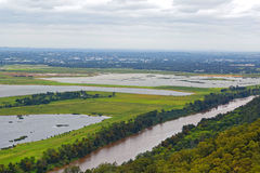 Hawkesbury-Fluss in West-Sydney, Australien Stockfotografie