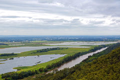 Hawkesbury-Fluss in West-Sydney, Australien Stockbilder