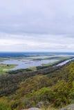 Hawkesbury-Fluss in West-Sydney, Australien Lizenzfreies Stockbild