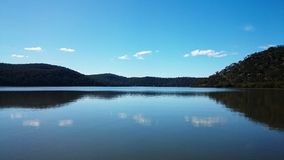 Hawkesbury River View @ Mooney Mooney, Australia Royalty Free Stock Photo