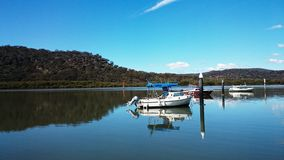 Hawkesbury River View @ Mooney Mooney, Australia Royalty Free Stock Images