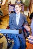 Hawking του Stephen στοκ φωτογραφία με δικαίωμα ελεύθερης χρήσης