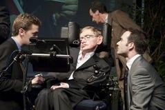 Hawking dello Stephen Fotografia Stock Libera da Diritti