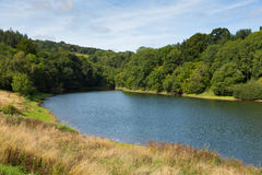 Hawkridge reservoir Quantock Hills Somerset Stock Image