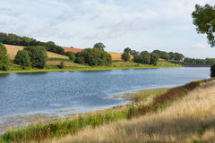 Hawkridge reservoir Quantock Hills Somerset Stock Photos