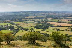 Hawkridge reservoir Quantock Hills Somerset Royalty Free Stock Photos