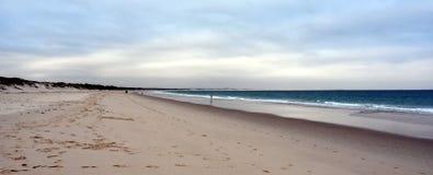 Hawks Nest beach at sunset Royalty Free Stock Photos