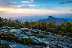 Hawksbill Mountain Royalty Free Stock Photo