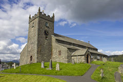 Hawkshead church Stock Image