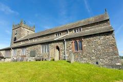 Hawkshead church Lake District Cumbria England UK Stock Photo