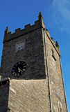 Hawkshead Church Tower. Tower of Hawkshead Church Of St Michael & All Angels in the Lake District Cumbria Royalty Free Stock Image