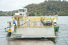 Hawkshead Ferry near Bowness Stock Photos