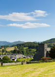 Hawkshead Lake District England uk on a beautiful sunny summer day popular tourist village Royalty Free Stock Photos