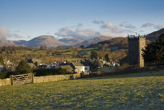 Hawkshead village Stock Images