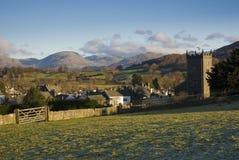 Hawkshead village Stock Images