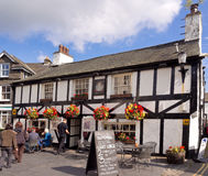 Hawkshead village Royalty Free Stock Image
