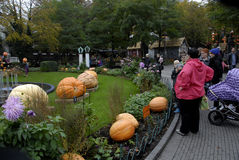 HAWLOWEEN I TIVOLI GARDEN Royalty Free Stock Photo