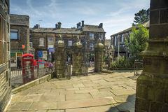 Haworth Западное Йоркшир Стоковые Фото