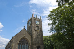 Haworth Church Royalty Free Stock Photography