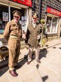 Haworth costumes Stock Image