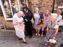Haworth costumes Royalty Free Stock Image