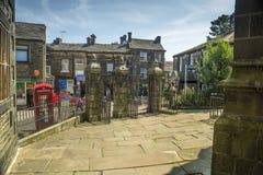 Haworth zachodni - Yorkshire Zdjęcia Stock
