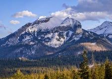 Havran Peak in Tatra Mountains Stock Images
