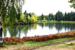 Hawrelak Park Edmonton Royalty Free Stock Photos