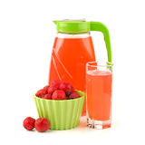 Hawthorn berries and drink Stock Photos