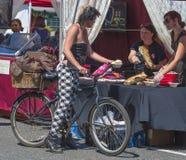 Hawthorn Street Fair, Portland, Oregon, Community Annual Event stock photo
