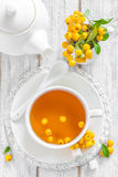 Hawthorn tea Stock Photography